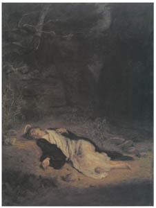 ジョン・エヴァレット・ミレイ – 聖ステパノ [ジョン・エヴァレット・ミレイ展より]のサムネイル画像