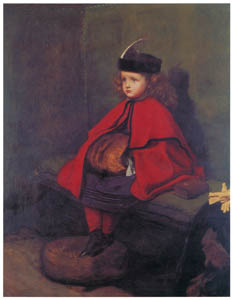 thumbnail John Everett Millais – My Second Sermon [from John Everett Millais Exhibition Catalogue 2008]