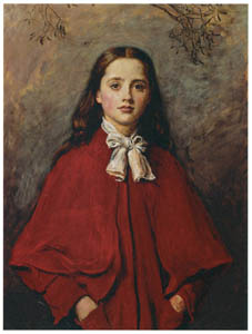 thumbnail John Everett Millais – Bright Eyes [from John Everett Millais Exhibition Catalogue 2008]