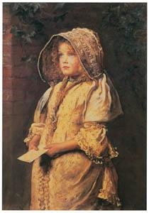 thumbnail John Everett Millais – For the Squire [from John Everett Millais Exhibition Catalogue 2008]
