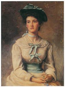 thumbnail John Everett Millais – Forget-Me-Not [from John Everett Millais Exhibition Catalogue 2008]