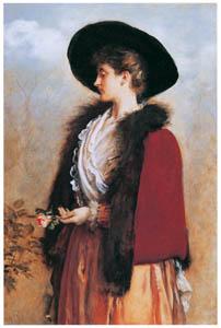 ジョン・エヴァレット・ミレイ – 名残りのバラ [ジョン・エヴァレット・ミレイ展より]のサムネイル画像