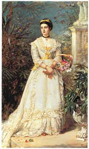ジョン・エヴァレット・ミレイ – ハントリー侯爵夫人 [ジョン・エヴァレット・ミレイ展より]のサムネイル画像