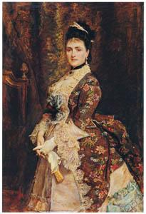 ジョン・エヴァレット・ミレイ – ビショフスハイム夫人 [ジョン・エヴァレット・ミレイ展より]のサムネイル画像