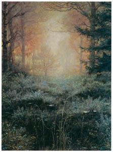 ジョン・エヴァレット・ミレイ – 露にぬれたハリエニシダ [ジョン・エヴァレット・ミレイ展より]のサムネイル画像