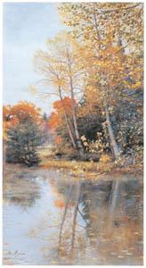 thumbnail John Everett Millais – Halcyon Weather [from John Everett Millais Exhibition Catalogue 2008]