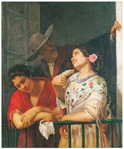 thumbnail Mary Cassatt – On the Balcony [from Mary Cassatt Retrospective]