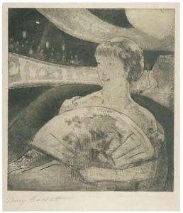 thumbnail Mary Cassatt – In the Opera Box (No.3) [from Mary Cassatt Retrospective]