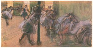 thumbnail Edgar Degas – In the Dance Foyer [from Mary Cassatt Retrospective]
