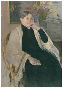 thumbnail Mary Cassatt – Mrs. Robert S. Cassatt, the Artist's Mother [from Mary Cassatt Retrospective]