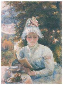 マリー・ブラックモン – お茶の時間 [メアリー・カサット展 図録より]のサムネイル画像