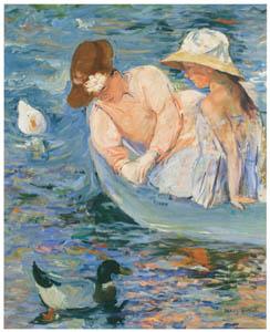 thumbnail Mary Cassatt – Summertime [from Mary Cassatt Retrospective]