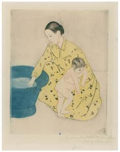 thumbnail Mary Cassatt – The Bath (The Tub) [from Mary Cassatt Retrospective]