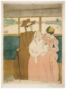 thumbnail Mary Cassatt – In the Omnibus [from Mary Cassatt Retrospective]