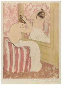 thumbnail Mary Cassatt – The Coiffure [from Mary Cassatt Retrospective]