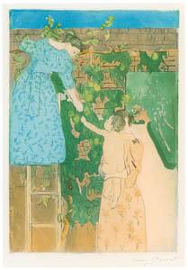thumbnail Mary Cassatt – Gathering Fruit [from Mary Cassatt Retrospective]