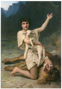 エリザベス・ジェーン・ガードナー – 羊飼いのダヴィデ [メアリー・カサット展 図録より]のサムネイル画像