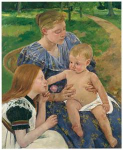 メアリー・カサット – 家族 [メアリー・カサット展 図録より]のサムネイル画像