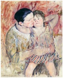 メアリー・カサット – 女性と子ども [メアリー・カサット展 図録より]のサムネイル画像