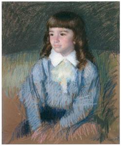 thumbnail Mary Cassatt – Little Boy in Blue (No.2) [from Mary Cassatt Retrospective]