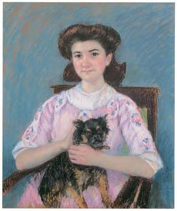 メアリー・カサット – マリー=ルイーズ・デュラン=リュエルの肖像 [メアリー・カサット展 図録より]のサムネイル画像
