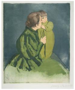 メアリー・カサット – 農家の母と子 [メアリー・カサット展 図録より]のサムネイル画像