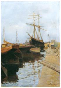 thumbnail Wassily Kandinsky – Odessa — Port I [from KANDINSKY]