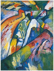 ワシリー・カンディンスキー – インプロヴイゼーション 7 [カンディンスキー展より]のサムネイル画像