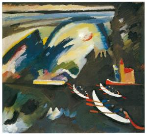 thumbnail Wassily Kandinsky – Lake [from KANDINSKY]