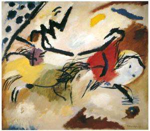 ワシリー・カンディンスキー – インプロヴイゼーション 20 [カンディンスキー展より]のサムネイル画像