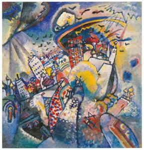 thumbnail Wassily Kandinsky – Moscow I [from KANDINSKY]