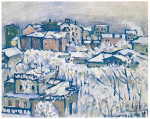 thumbnail Wassily Kandinsky – Moscow — Smolensk Boulevard [from KANDINSKY]