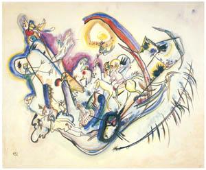 ワシリー・カンディンスキー – 火の烏 [カンディンスキー展より]のサムネイル画像