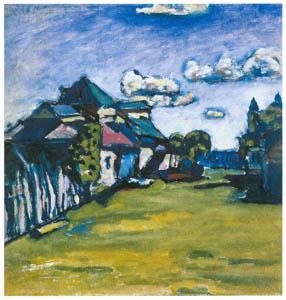 thumbnail Wassily Kandinsky – Near Moscow [from KANDINSKY]