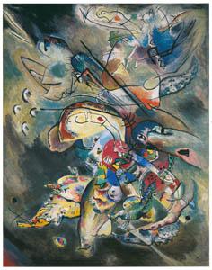 ワシリー・カンディンスキー – 暗鬱 [カンディンスキー展より]のサムネイル画像