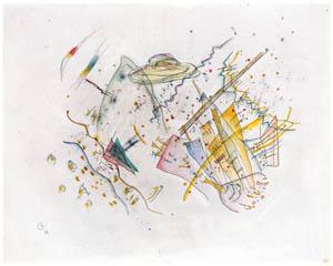 ワシリー・カンディンスキー – 線と色のコンポジション [カンディンスキー展より]のサムネイル画像