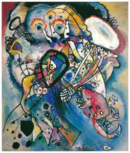 ワシリー・カンディンスキー – ふたつの楕円 [カンディンスキー展より]のサムネイル画像