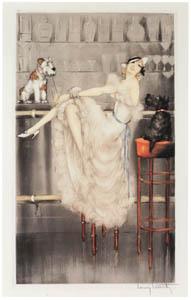 ルイ・イカール – 愉快なトリオ [アール・デコの華 Louis Icartより]のサムネイル画像