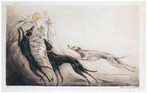 ルイ・イカール – コージングII [アール・デコの華 Louis Icartより]のサムネイル画像