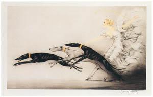 ルイ・イカール – スピードII [アール・デコの華 Louis Icartより]のサムネイル画像