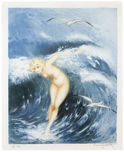 ルイ・イカール – 波の精 [アール・デコの華 Louis Icartより]のサムネイル画像