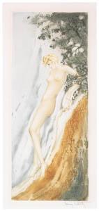 ルイ・イカール – 滝 [アール・デコの華 Louis Icartより]のサムネイル画像