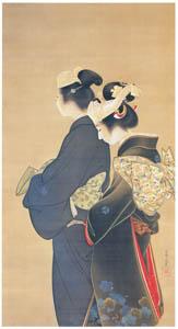 上村松園 – 人生の花 [上村松園展 没後50年記念 美の精華より]のサムネイル画像