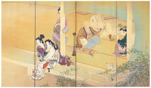 thumbnail Uemura Shōen – Insect sounds  [from Uemura Shōen Exhibition on the 50th Anniversary of Her Death]