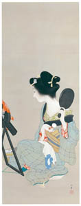thumbnail Uemura Shōen – Make up [from Uemura Shōen Exhibition on the 50th Anniversary of Her Death]