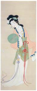 上村松園 – 楚蓮香之図 [上村松園展 没後50年記念 美の精華より]のサムネイル画像