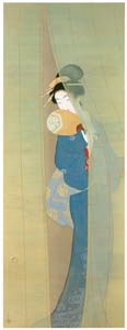 thumbnail Uemura Shōen – The Firefly [from Uemura Shōen Exhibition on the 50th Anniversary of Her Death]