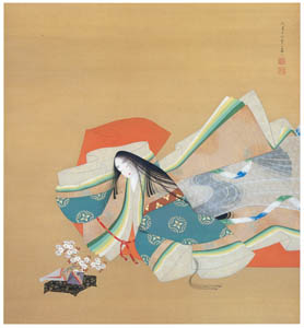 thumbnail Uemura Shōen – Ise no Taifu [from Uemura Shōen Exhibition on the 50th Anniversary of Her Death]