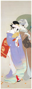 thumbnail Uemura Shōen – Autumn Costumes [from Uemura Shōen Exhibition on the 50th Anniversary of Her Death]