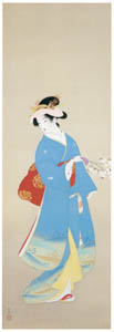 thumbnail Uemura Shōen – The Coming of Spring [from Uemura Shōen Exhibition on the 50th Anniversary of Her Death]